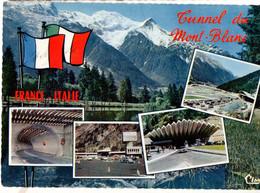 CPSM, CHAMONIX, (74), Tunnel Du MONT-BLANC, écrite, - Chamonix-Mont-Blanc