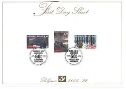 Belgium FDS 2004-22  'Remember BASTOGNE 1944 - 2004'   Nr 005936 - Seconda Guerra Mondiale