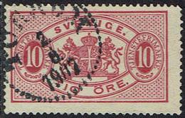 Schweden Dienstmarken 1874, MiNr 5, Gestempelt - Officials