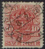 Schweden Dienstmarken 1911, MiNr 37, Gestempelt - Officials
