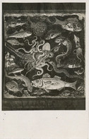 Mosaique Poissons Pompei  Aguille Calamar Pieuvre  Langouste Lobster Squid  Etc - Fish & Shellfish