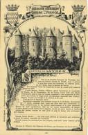 Collection Historique Des Chateaux De France Chateau De LUYNES  ( Indre Et Loire) Recto Verso - Luynes