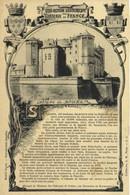 Collection Historique Des Chateaux De France Chateau De SAUMUR  Recto Verso - Luynes