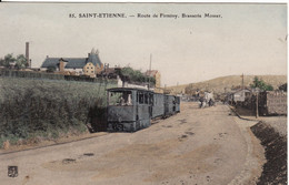 42 SAINT-ETIENNE Route De Firminy Brasserie Mosser - Saint Etienne