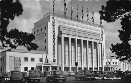 "11102""WIEN-MESSEGELÄNDE"" ERINNOFILO E ANNULLO WIENER MESSE-AUTOVETTURE ANNI '50-VERA FOTO-CART SPED 1957 - Zonder Classificatie"