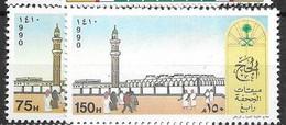 Saudi Arabia  Complete Set Mnh ** 1990 4 Euros - Saoedi-Arabië