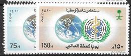 Saudi Arabia  Complete Set Mnh ** 1990 4 Euros - Arabia Saudita