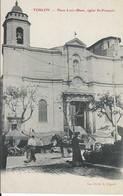 83 - Toulon - Place Louis-Blanc Eglise St-François - Marché - Pas Circulé - Animée - NB - TBE - Toulon