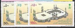 Saudi Arabia  Complete Set Mnh ** 1989 4 Euros - Saoedi-Arabië