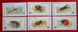 Insectes Bug Bee Insects Libel Ladybug COB 2630-2635 (Mi 2682-2687) 1996 POSTFRIS MNH ** BELGIE BELGIEN BELGIUM - Unused Stamps