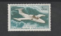 Poste Aérienne -  1960 - 64  - N° 39b  Variété Bleu Unicolore    -  Neuf Sans Charnière - 1927-1959 Mint/hinged