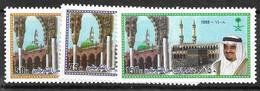 Saudi Arabia  Complete Set Mnh ** 1988 4 Euros - Arabie Saoudite