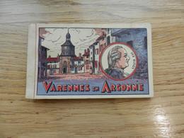 Carnet De 15 Cartes Postales VARENNES EN ARGONNE LOUIS 16 - Otros Municipios