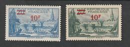 Variétés - 1941  -   N° 492  -  Variété Turquoise   - Neuf Sans Charnière - - Kuriositäten: 1970-79 Ungebraucht