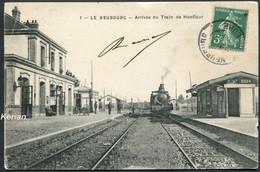 Le Neubourg - Arrivée Du Train De Honfleur - N° 1 Edit. Aubert - Etat Moyen Lire Descriptif Et Voir 2 Scans - Le Neubourg