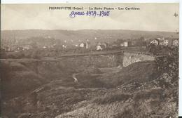 PIERREFITTE - La Butte Pinson - Les Carrières - Pierrefitte Sur Seine