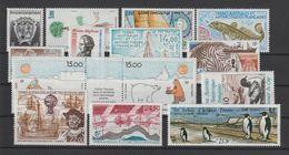 TAAF Année Complète 1992 163-170 Et PA 120A,121-124 ** MNH - Komplette Jahrgänge