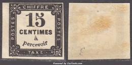 *RARE* 15c Litho Neuf * Bord De Feuille TB (Y&T N° 4, Cote +225€) - 1859-1955 Mint/hinged