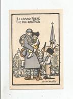 ANDRE HELLE ILLUSTRATION LE GRAND FRERE. THE BIG BROTHER - Otros Ilustradores