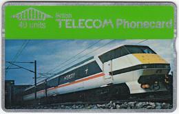GREAT BRITAIN E-750 Hologram BT - Traffic, Train - 012D - Used - BT Edición General
