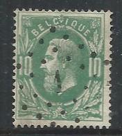 N°30, 10c Vert Lpts 1 Aeltre - 1869-1883 Leopold II