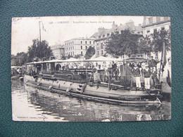 Cpa 1913 LORIENT Torpilleur Au Bassin Du Commerce 56 Morbihan - Lorient