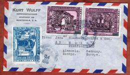 Luftpost, Tourismus U.a., Guatemala Nach Mainz 1973 (2648) - Guatemala