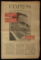 ( Littérature ) Revue L'EXPRESS Du 14 Juin 1957 Entretiens Louis-Ferdinand CÉLINE Madeleine CHAPSAL - Política