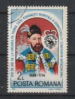 1988  -  Constantin Brancoveanu  Mi No 4457 Et Yv 3804 - Gebraucht