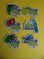 7 Magnet Ecologie - Ecosystème Je Me Recycle - Rasoir Jeux - Lampes - Telephone - Photo - Electromenage - Outils - Magnets