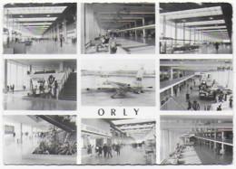 Cpsm Bon Etat , 10.5x15cm , L'aeroport D'orly , L'aérogare , Vue Intérieures , Courrier Au Verso , Carte Rare - Orly