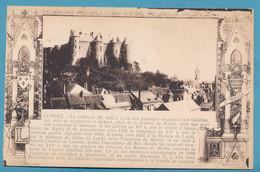 LUYNES - Le Château - Texte Relatant Son Histoire - Luynes