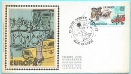 2351 - BELGIE - BELGIUM - FDC 1979 - FIRST DAY OF ISSUE -  10 JAAR ARBEFIL KIBBOETS - 1971-80