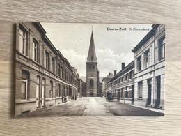 Postkaart Deurne Zuid – Sint-Rochuskerk – Geanimeerd - Antwerpen