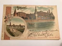Moscov Lithographie F Korff & Co Amsterdam Cacao Korff - Russia
