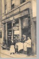 """Liège - Commerce - Friture Restaurant """"J. Marc"""" - Rue Lulay, 10 à Liège - Etat: Abîmée - Voir 2 Scans - Liège"""