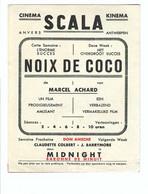 Cinema SCALA    NOIX DE COCO - Antwerpen