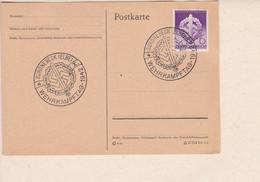 Karte Deutsche Reich Mi.Nr. 881 Wehrkampftage  SoSt. Schönebeck                   ...Z20 - Covers & Documents