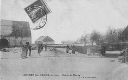 AUTREY-les-CERRE (Haute-Saône) - Route De Noroy. Edition Jacob. Circulée En 1907. 2 Scan. - Other Municipalities
