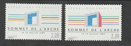 Variétés - 1989   -  N°2600   -  Sans Le Rouge , Sans La Barre Rouge -       Neuf Sans Charnière - Curiosità: 1970-79  Nuovi