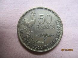 France: 50 Francs 1954 B - M. 50 Franchi