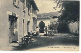 CPA LA LOUVESC  La Fontaine St - Régis  N° 122 - La Louvesc