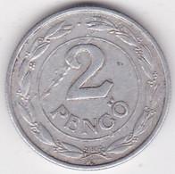 Hongrie 2 Pengö 1942 BP En Aluminium, KM# 522 - Hungary