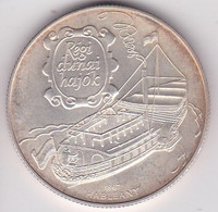 Hongrie 1000 Forint 1995 BP Bateau Du Danube Hableány, En Argent, KM# 714 - Hungary