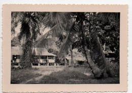 V12 65Sb  Gabon Libreville Photo Du Village Paul Pêcheur - Gabon