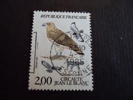 "1980-89 Oblitéré N°   2338   ""   Circaete Jean Le Blanc "" ""   étampes   ""      Net   0.50   Photo    1 - Usados"