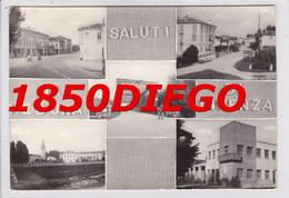 SALUTI DA MEDUNA DI LIVENZA - MULTIVEDUTE F/GRANDE VIAGGIATA 1962 ANIMAZIONE - Treviso