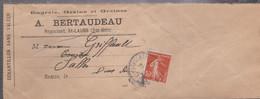 ECHANTILLON SANS VALEUR Avec N°138 De St-LAURS Pour SALLES - 1877-1920: Semi-Moderne