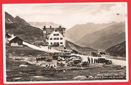 SWITZERLAND   FURKA PASSHOHE  HOTELS  FURKA  + FURKABLICK  RP + CARS CHARABANC COACH - VS Valais