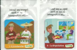 -- MAGNETS SAVEOL 1 LA RECHERCHE 6 LA DEGUSTATION - Magnets